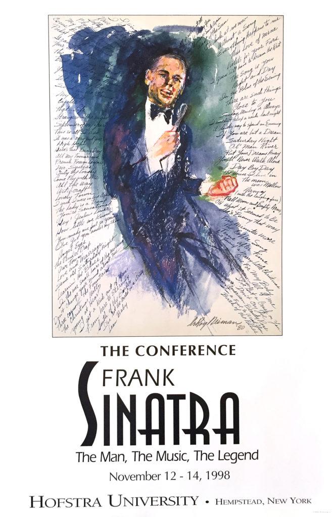 Frank Sinatra at Hofstra poster