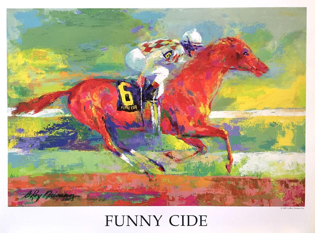 Funny Cide poster