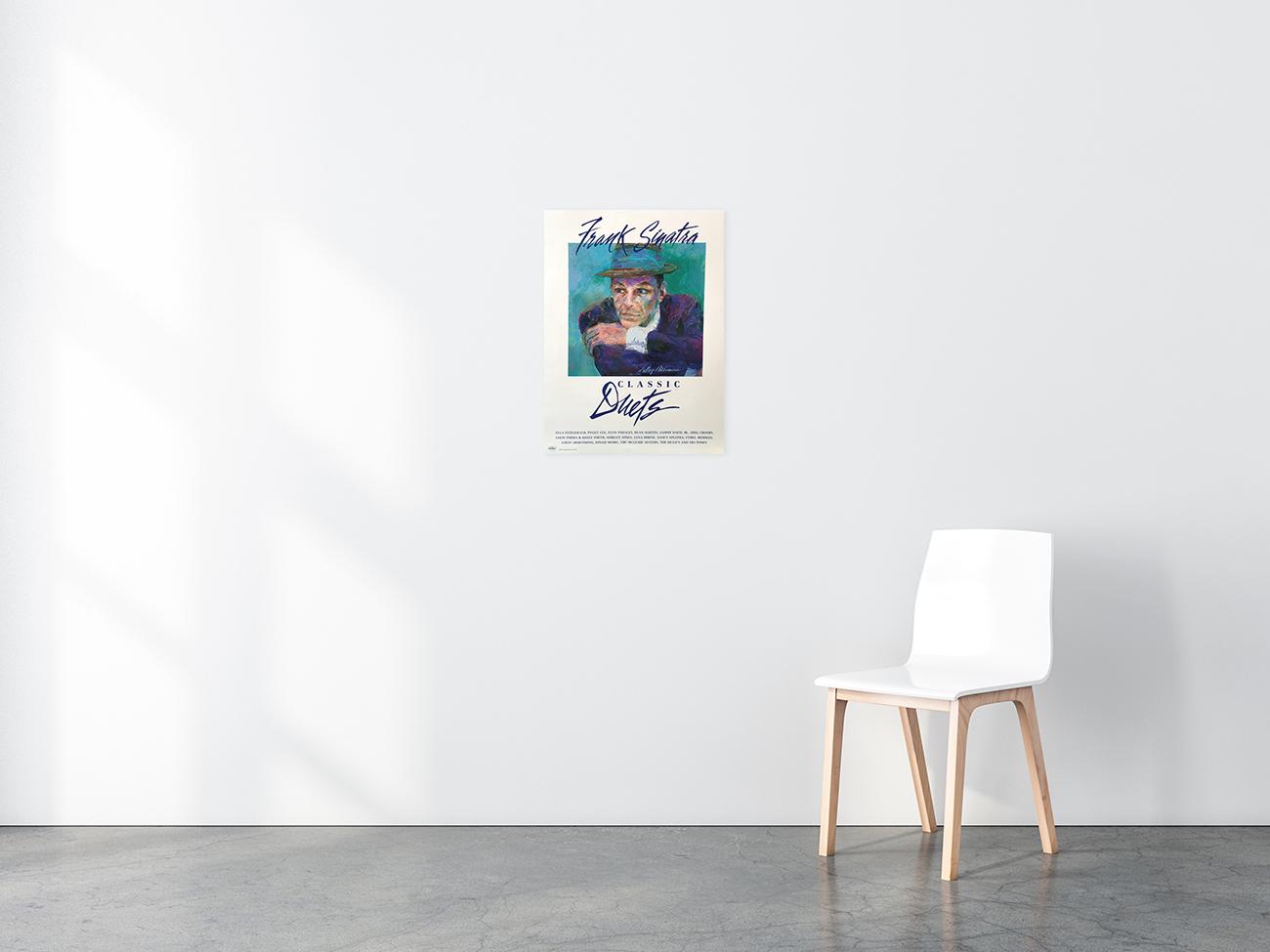 Frank Sinatra poster in situ
