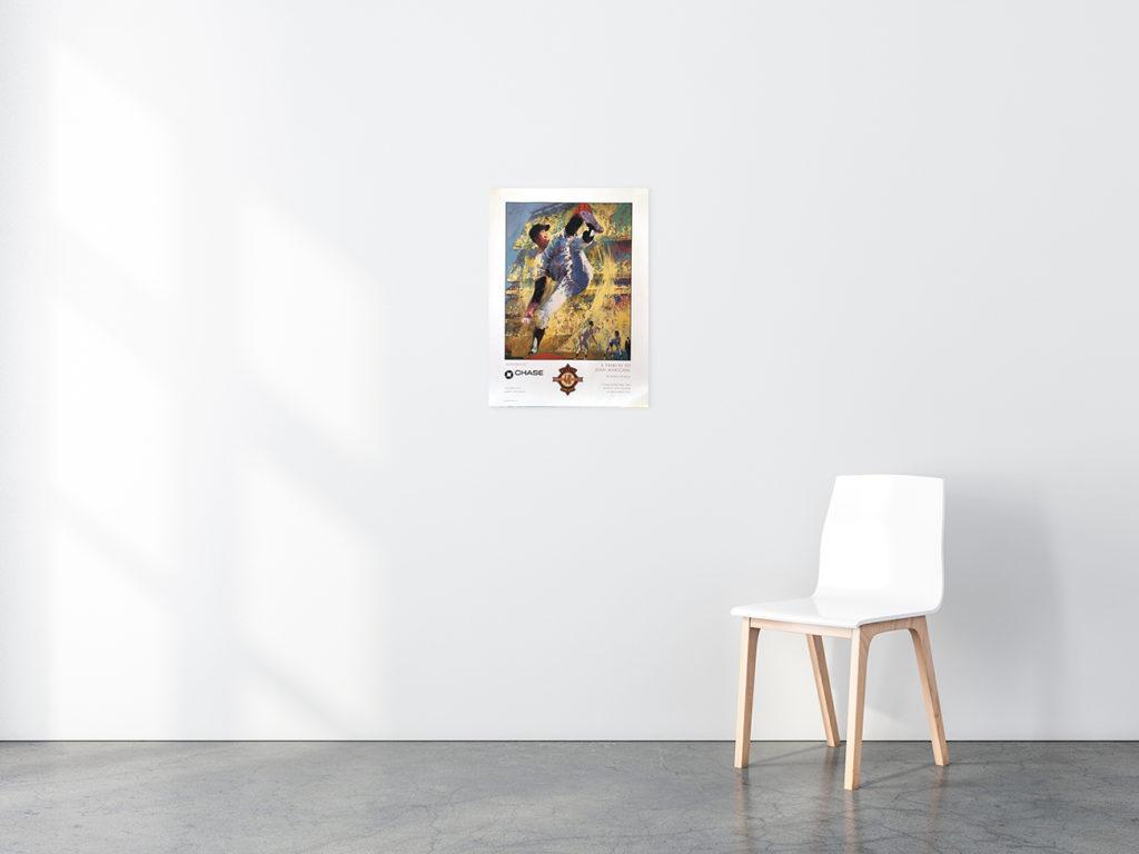 Juan Marichal Baseball poster in situ