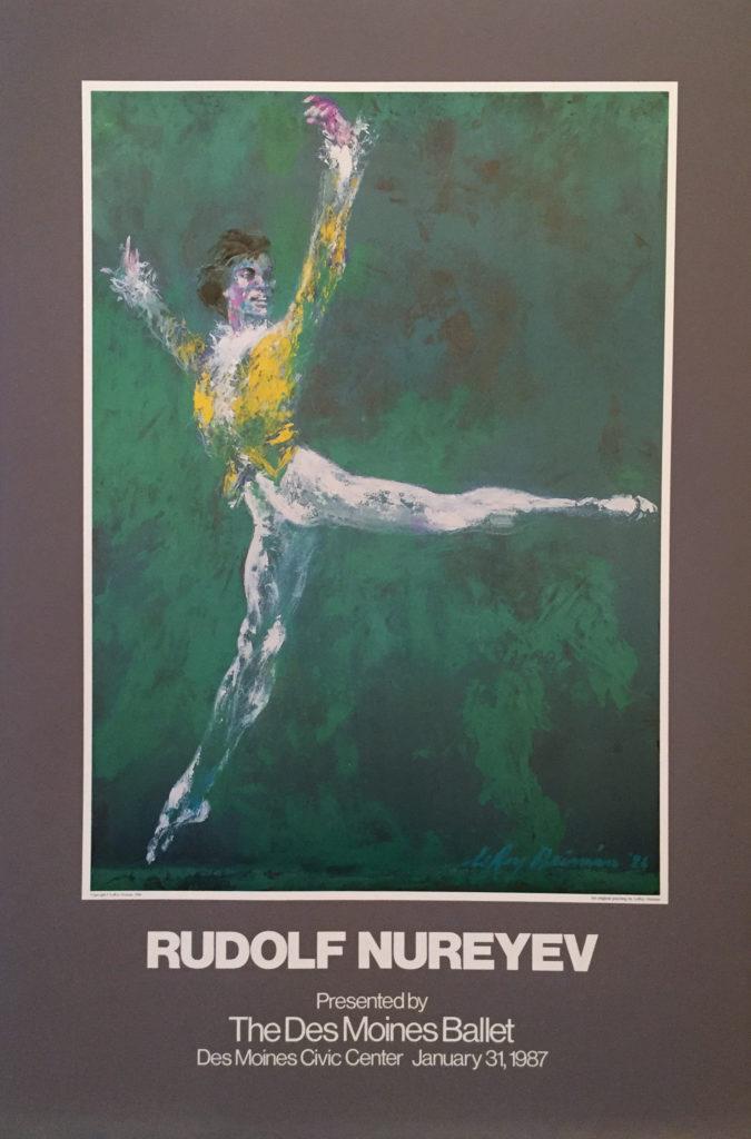 Rudolf Nureyev poster