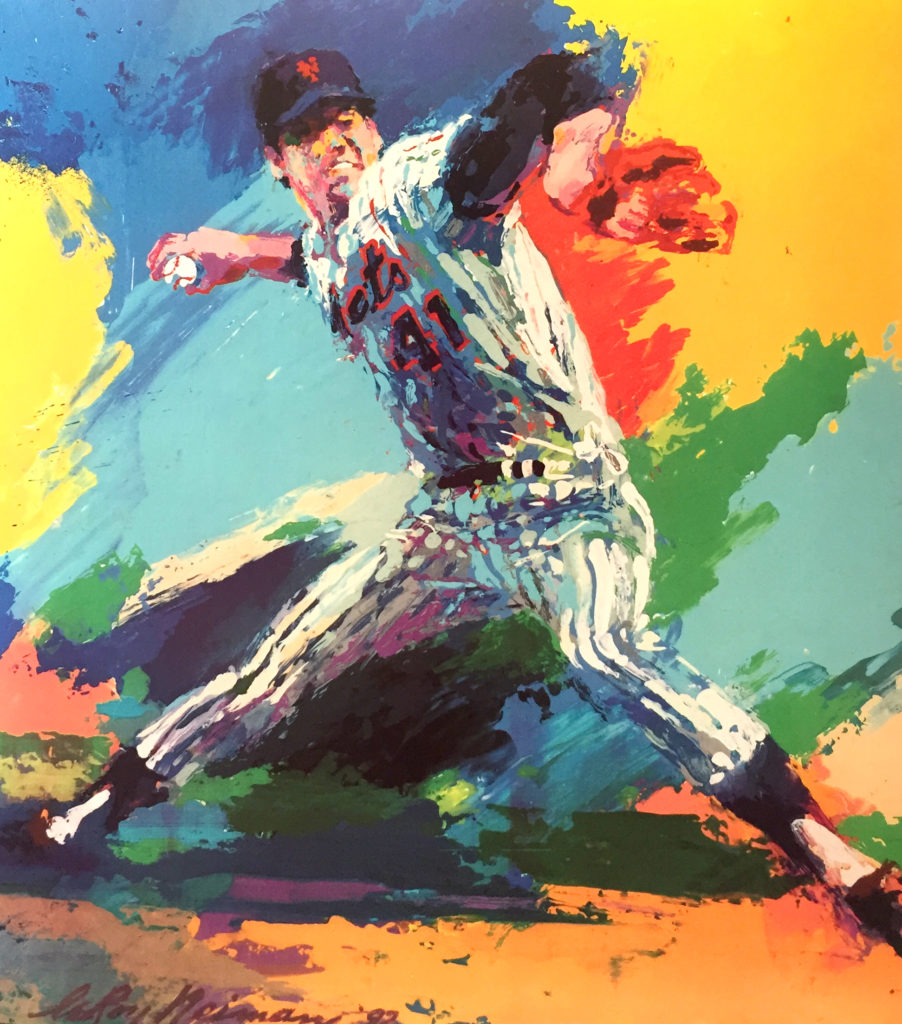 Tom Seaver Baseball poster