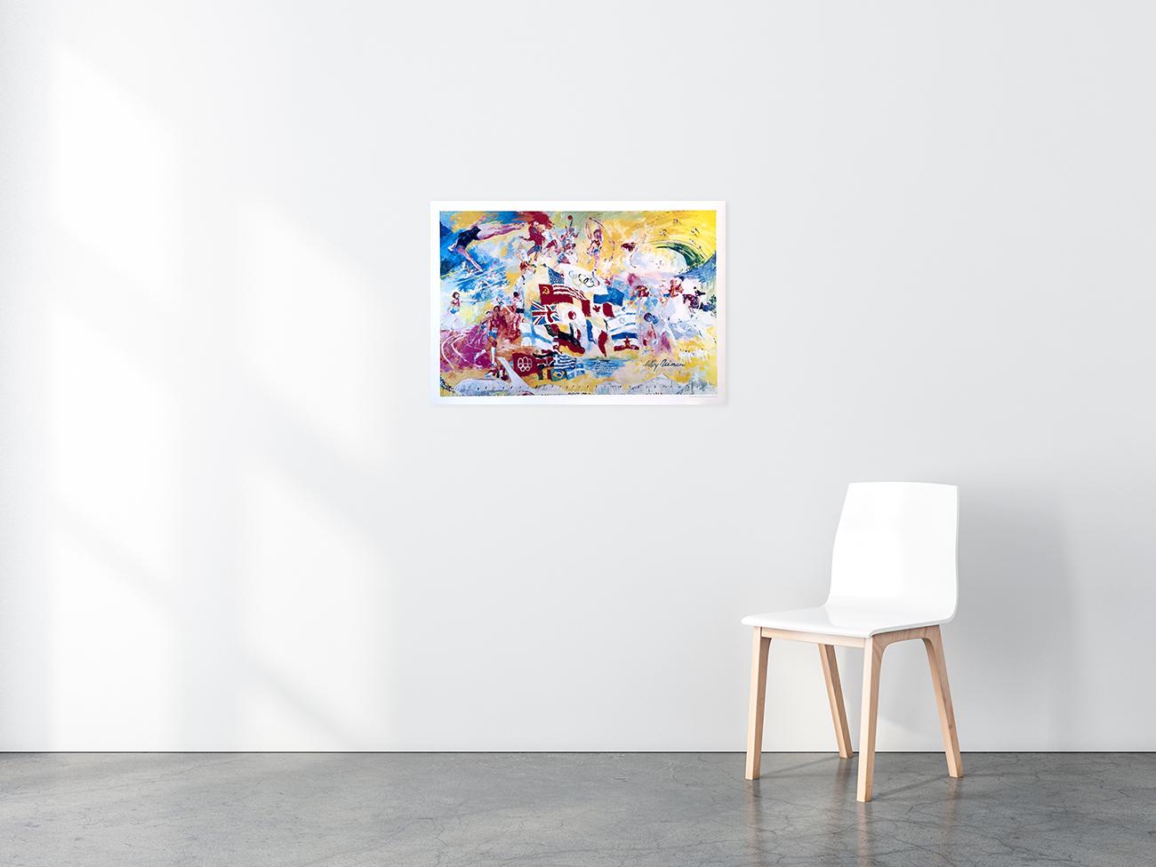 Neiman's Montreal poster in situ