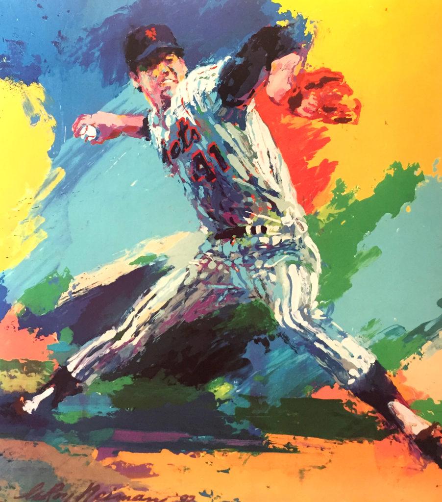 Tom Seaver Baseball poster