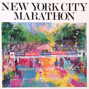 New York City Marathon poster