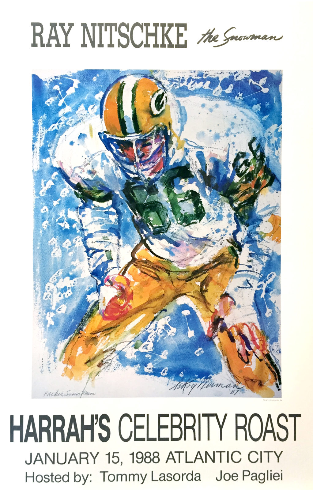 Ray Nitschke, Football poster