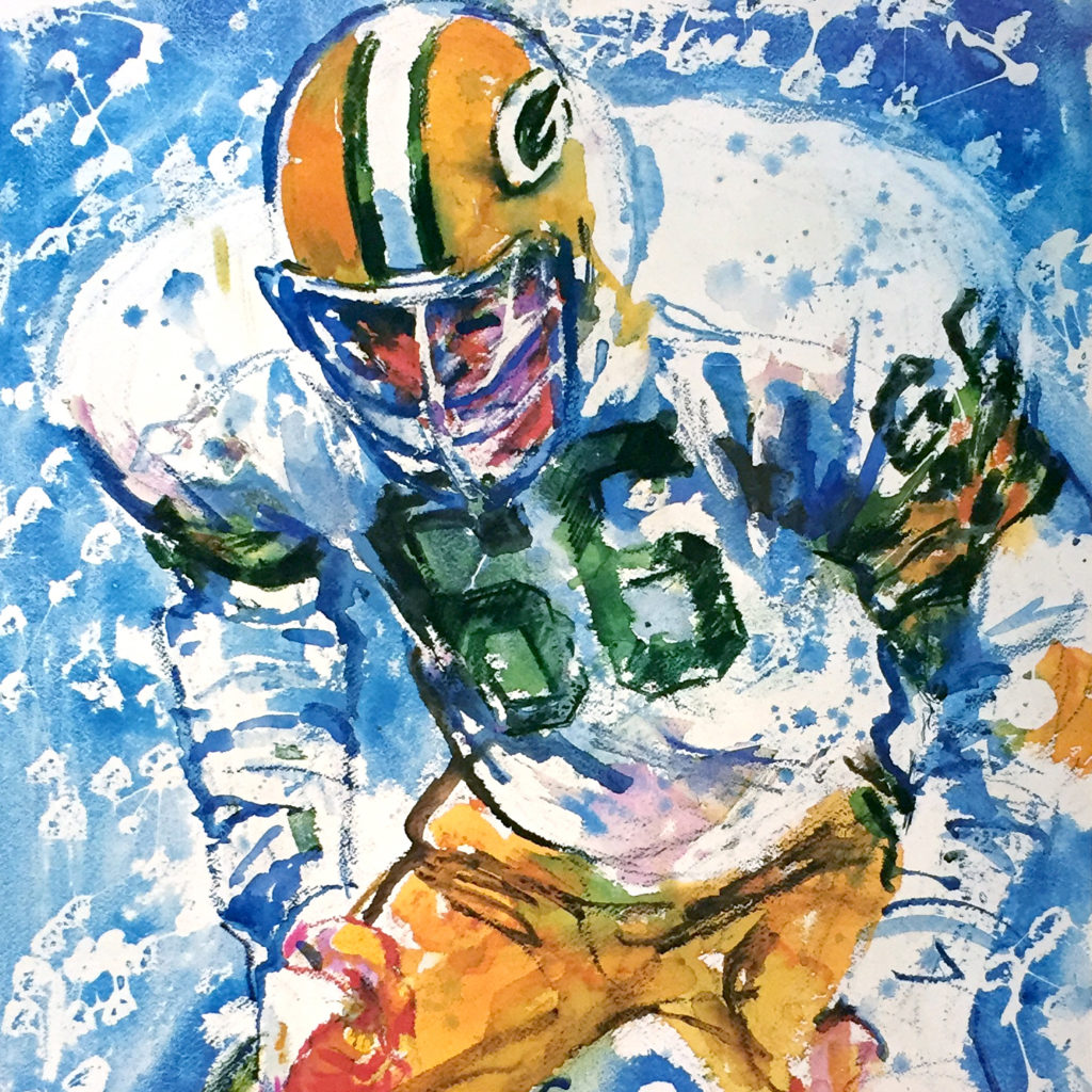 Green Bay Packers player #66