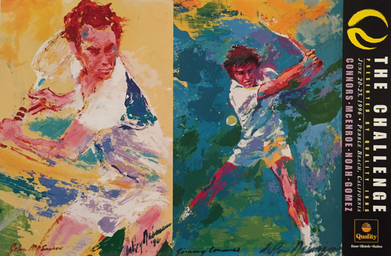 The Challenge: McEnroe vs. Conners Tennis poster