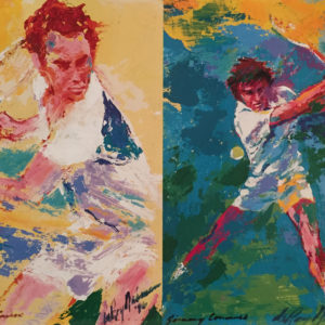 McEnroe and Connors Tennis Players