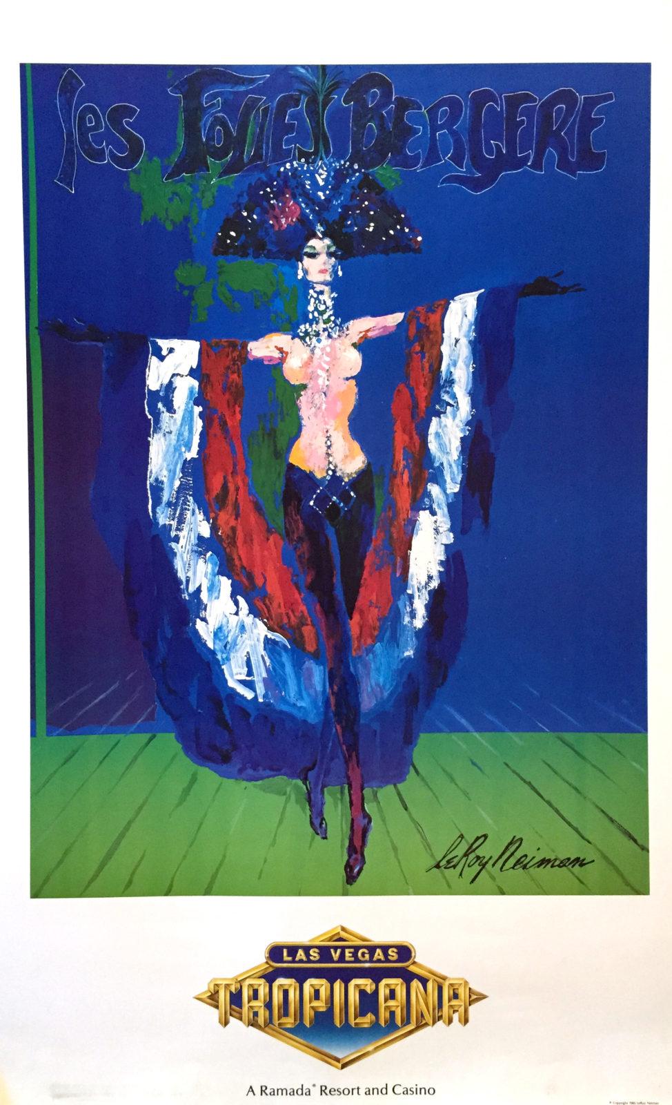 Les Folies Bergere - Las Vegas, Tropicana poster