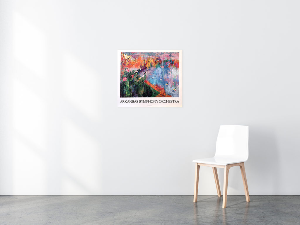 Arkansas Symphony Orchestra poster in situ