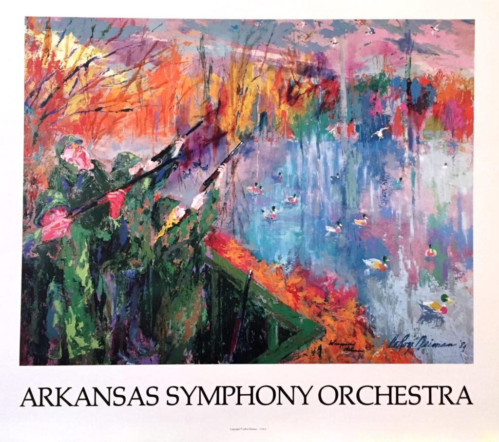 Arkansas Symphony Orchestra poster