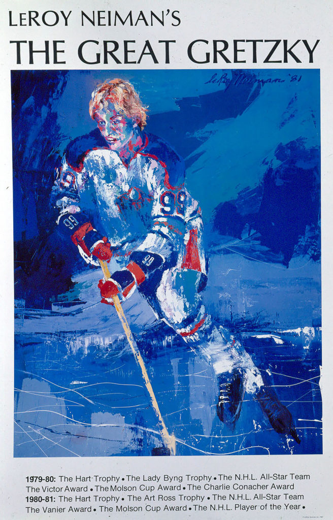 The Great Gretzky Hockey poster