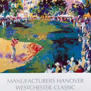 Manufacturers Hanover Westchester Classic Golf poster