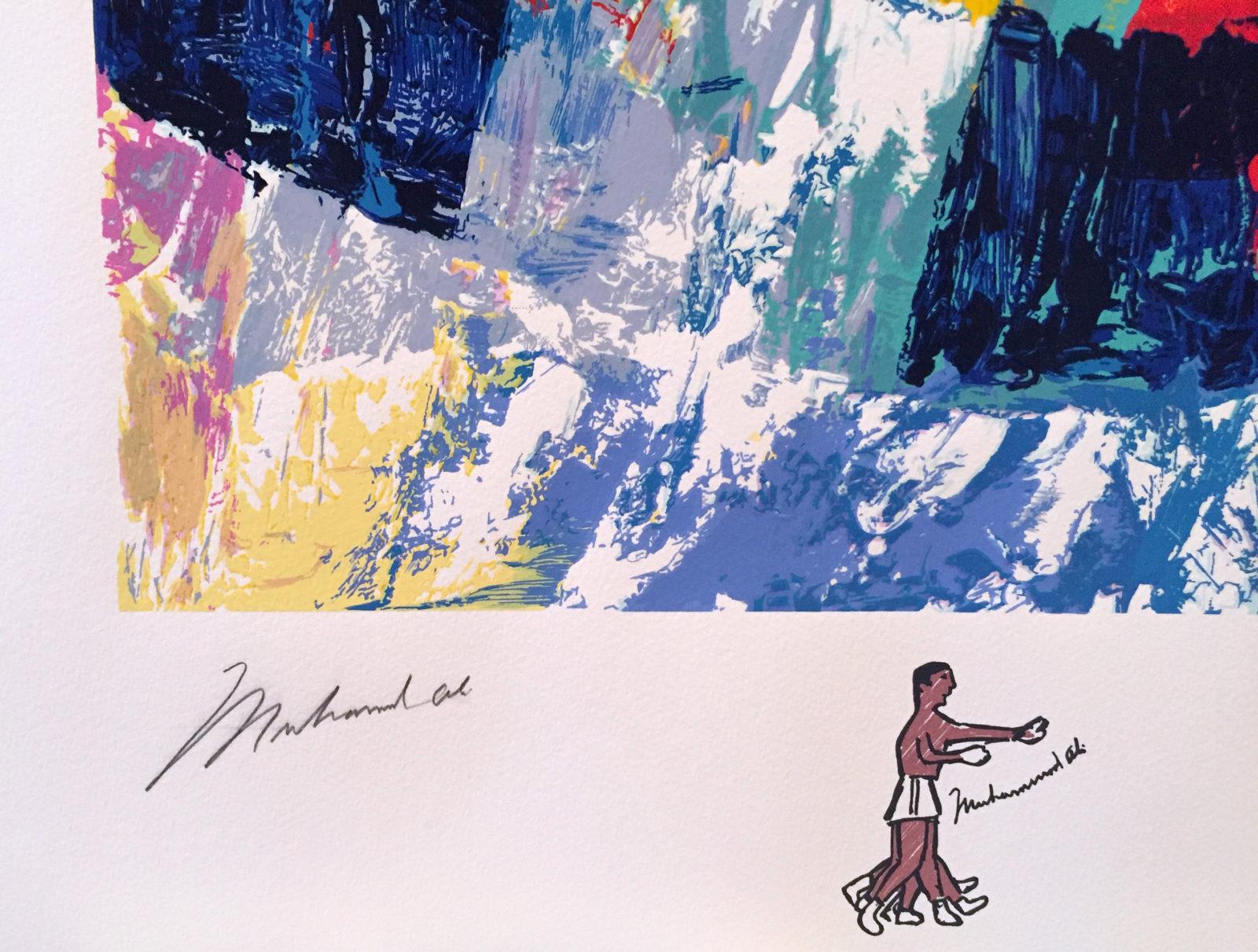 Muhammad Ali Signature