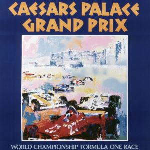Caesars Palace Grand Prix poster