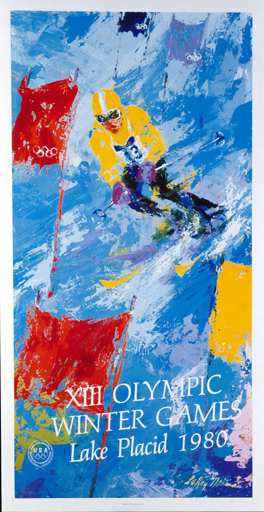 XIII Olympic Winter Games Lake Placid 1980 poster
