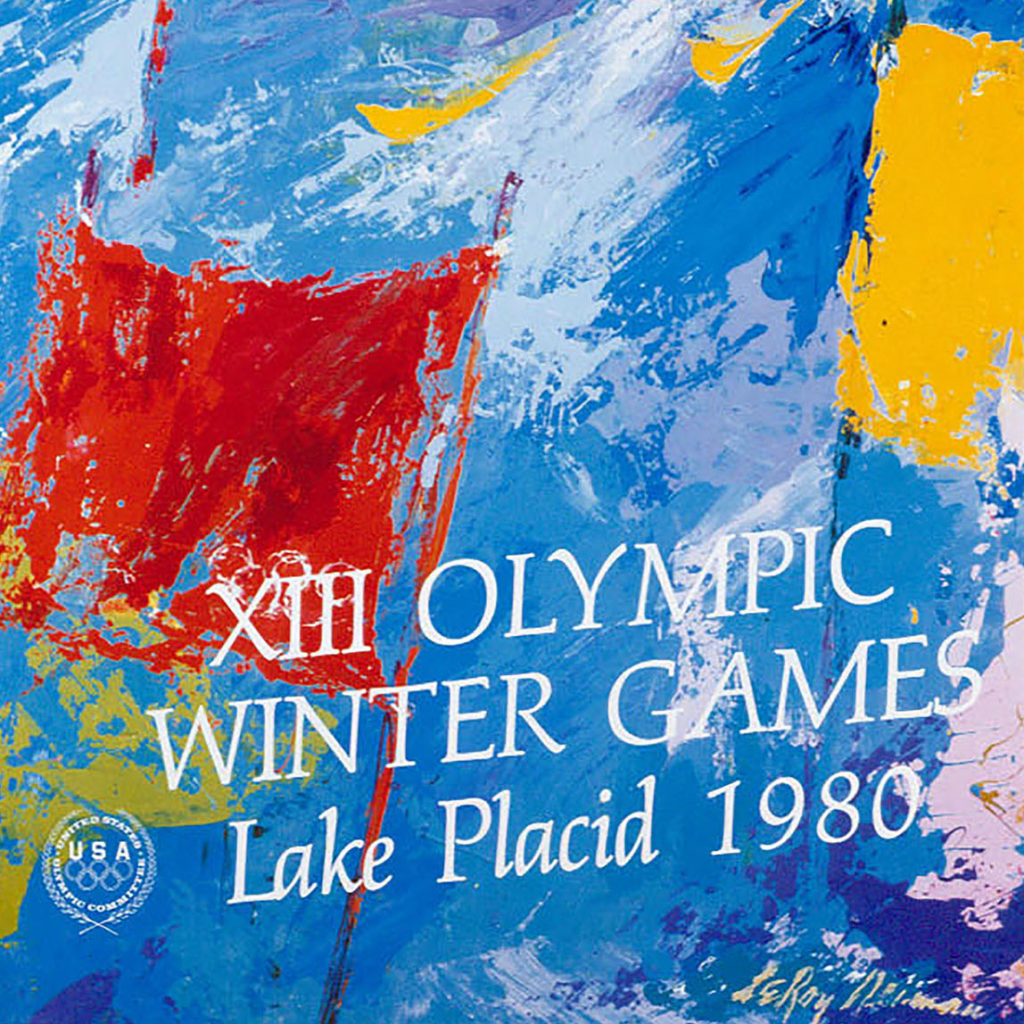 XIII Olympic Winter Games Lake Placid 1980