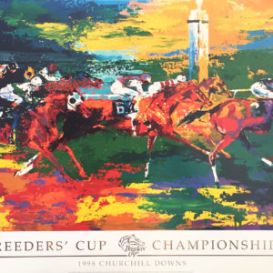 Breeders Cup Championship Horse Racing poster