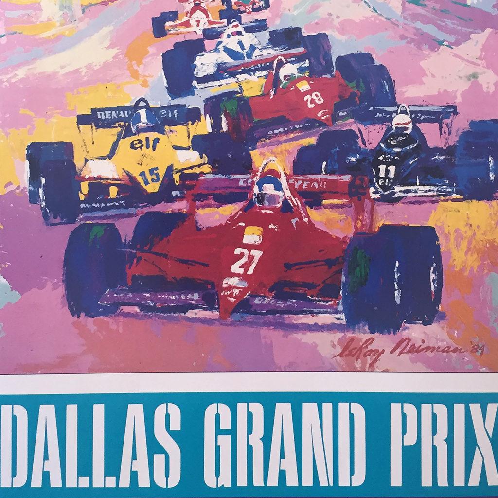 Dallas Grand Prix poster