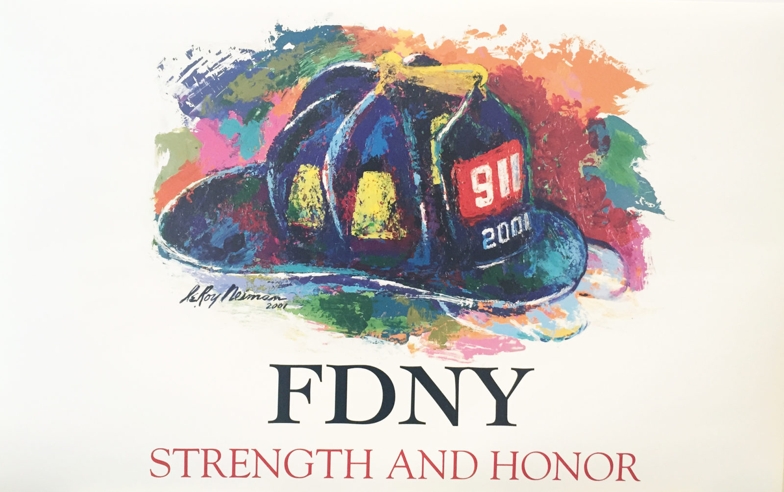 FDNY poster