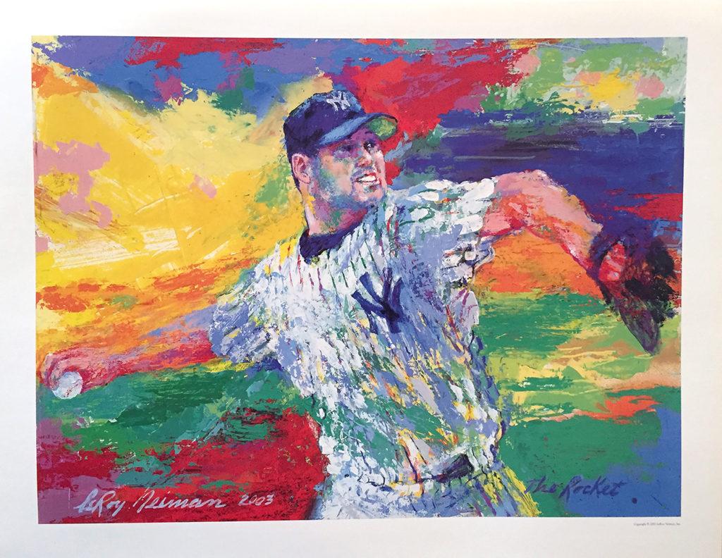 Roger Clemens Baseball poster