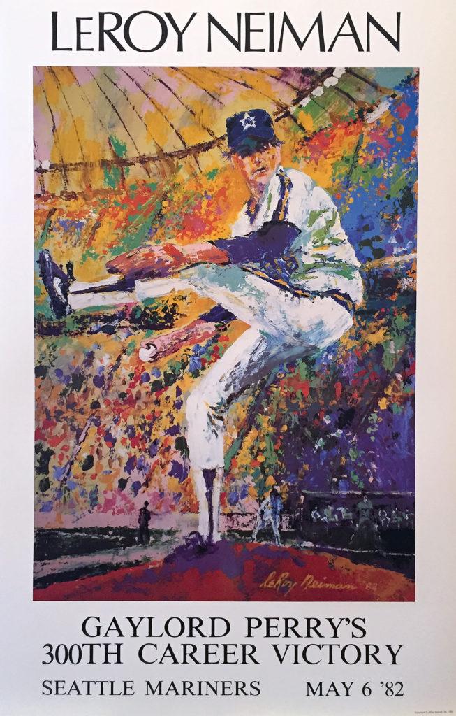 Gaylord Perry Baseball poster