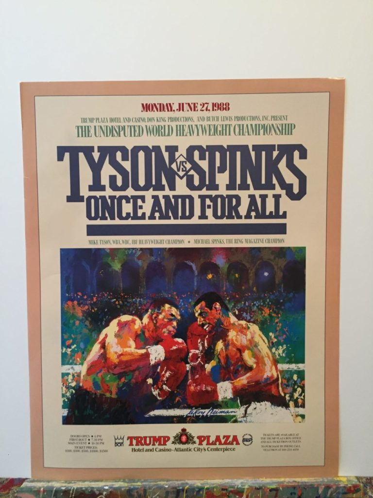 Tyson vs. Spinks poster
