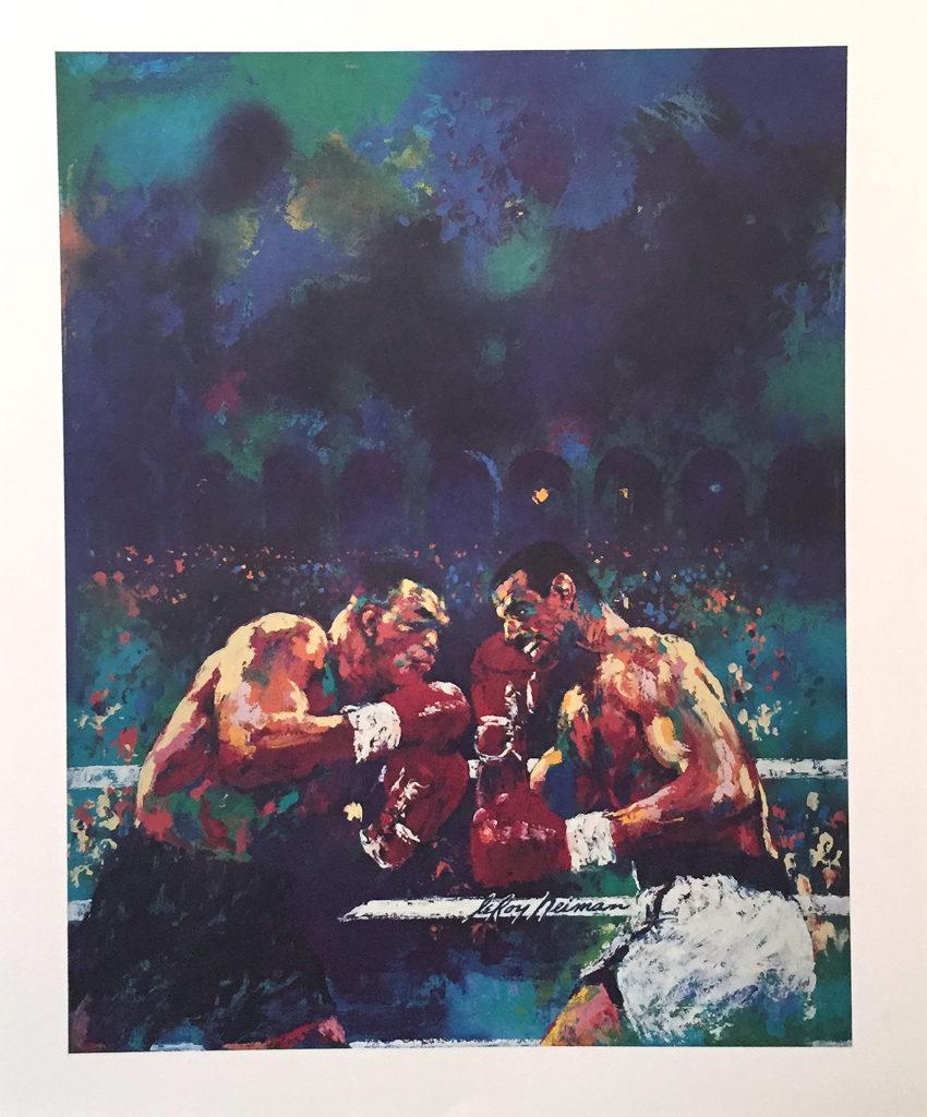 Tyson vs. Spinks print