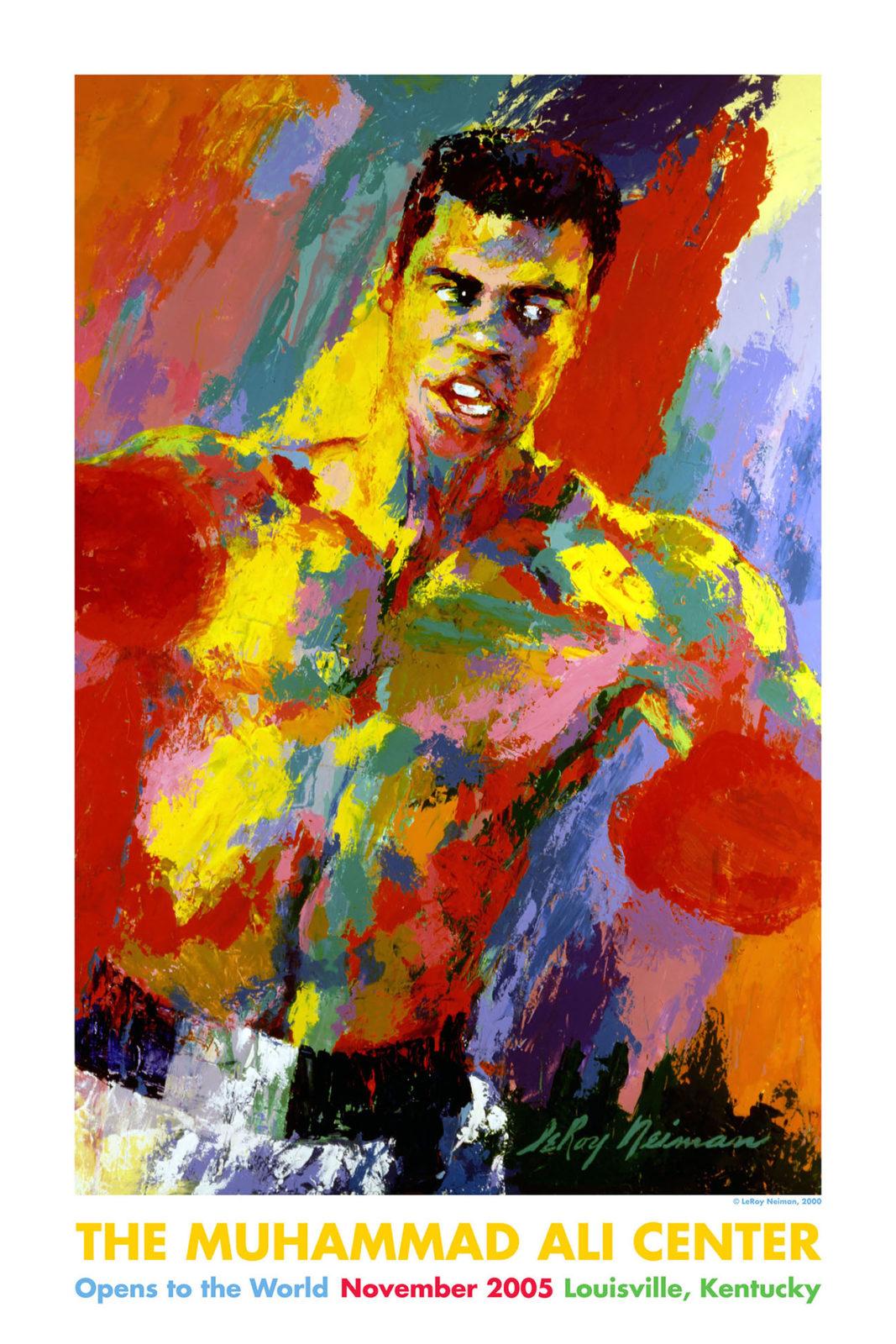 Muhammad Ali Center poster