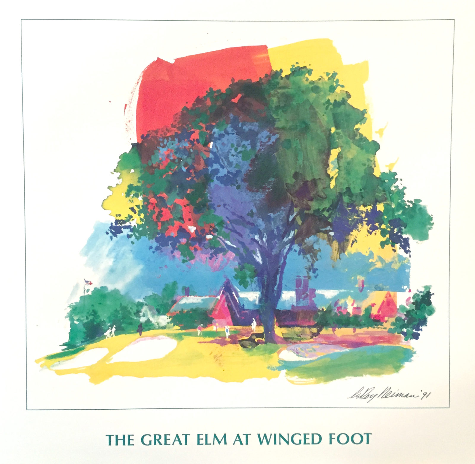 The Great Elm at Winged Foot Golf poster