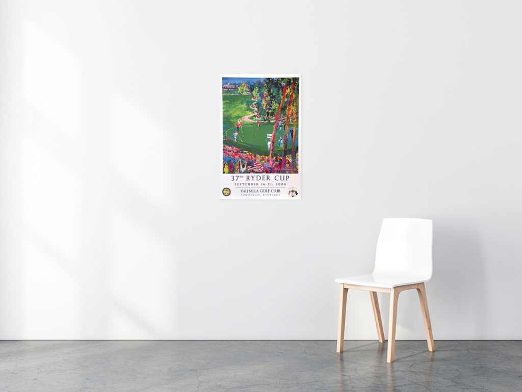 37th Ryder Cup poster in situ