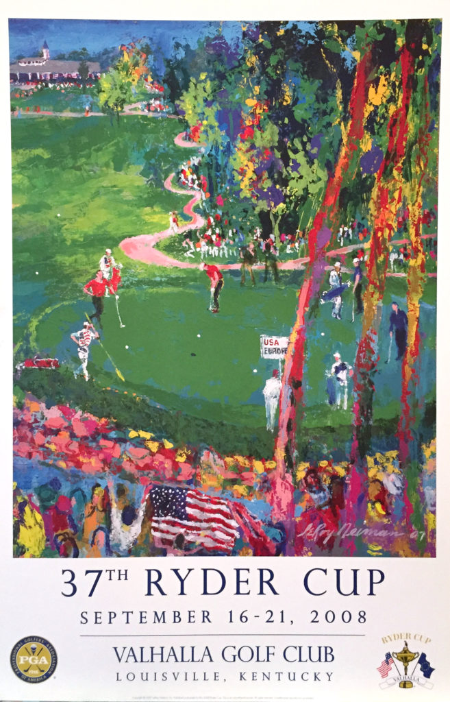 37th Ryder Cup poster
