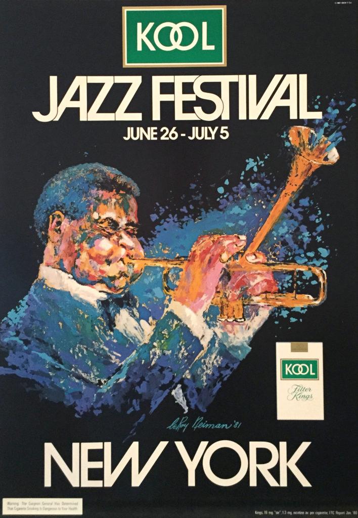 Kool Jazz Festival New York poster