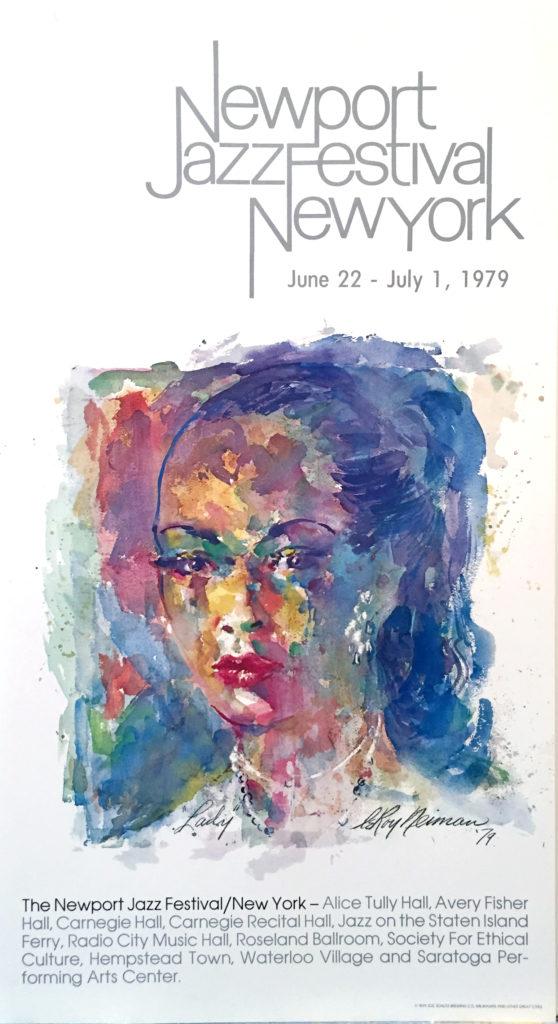 Newport Jazz Festival New York, Billie Holiday poster