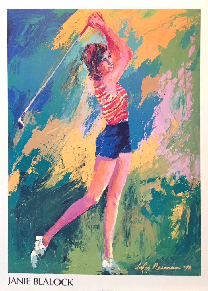 Janie Blalock Golf poster