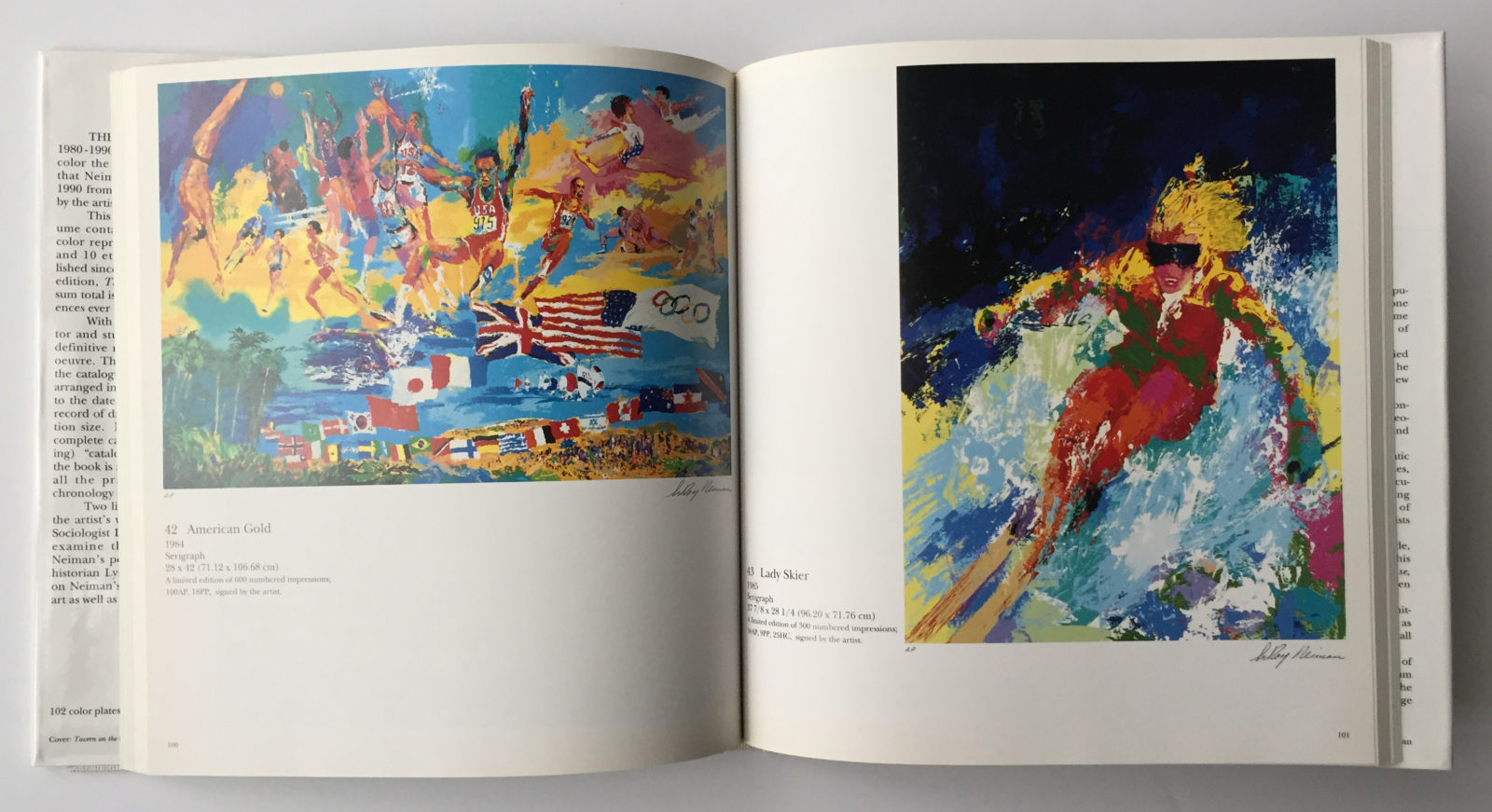 Artwork from, The Prints of LeRoy Neiman: 1980 - 1990 book