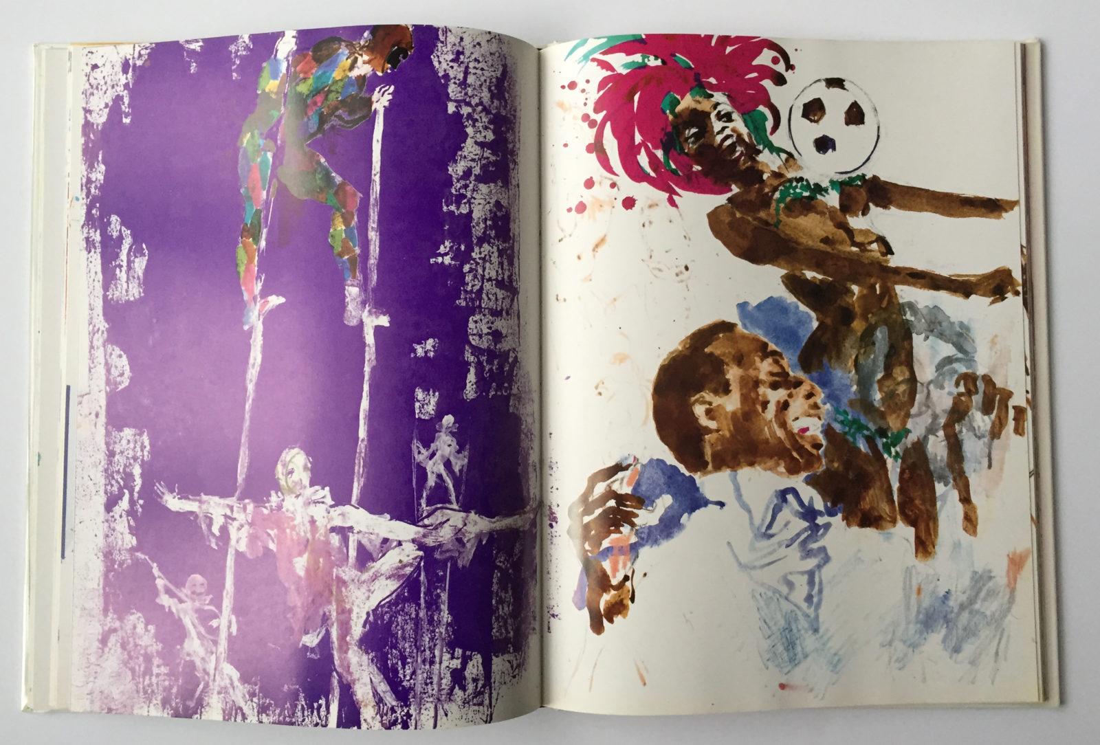 Artwork from, Carnival book