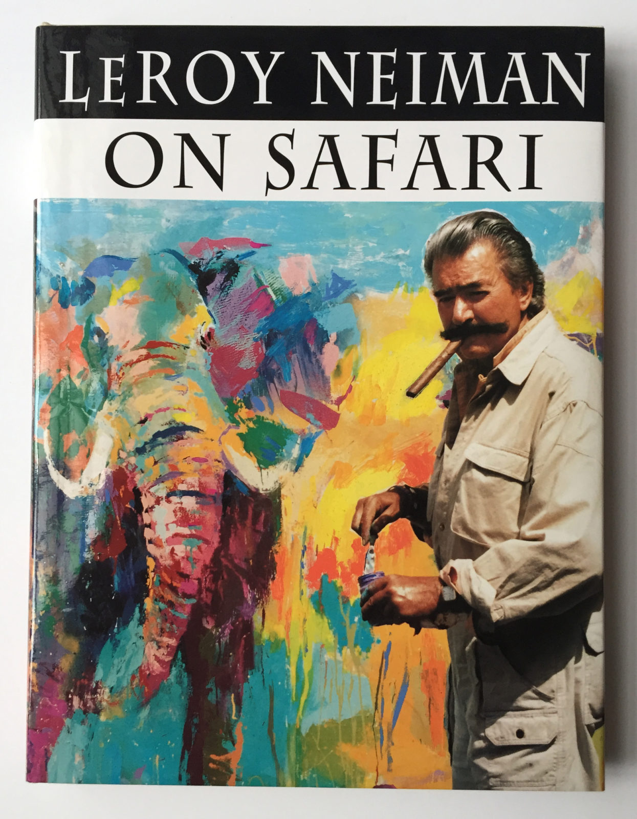 LeRoy Neiman on Safari book