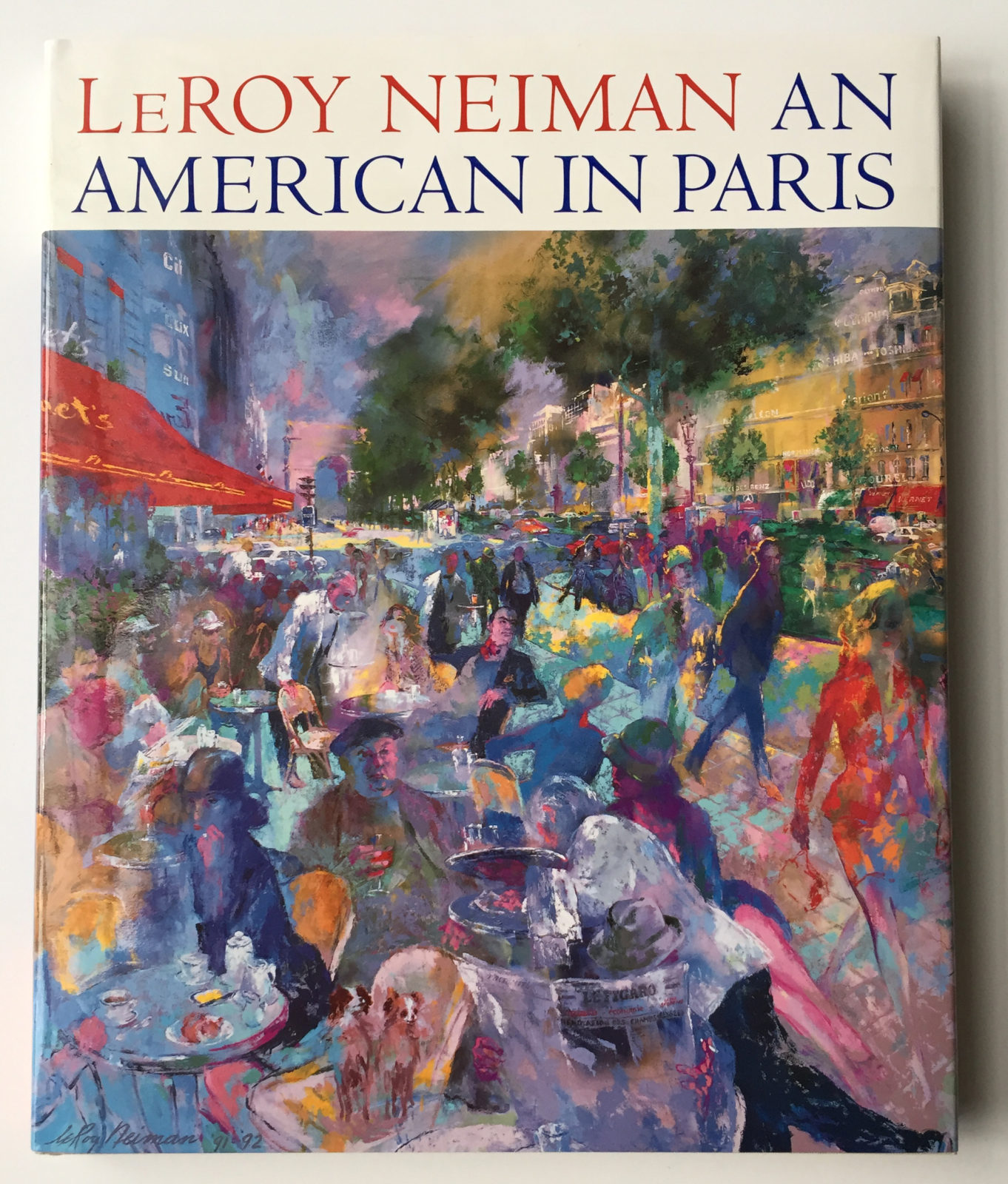 An American in Paris book