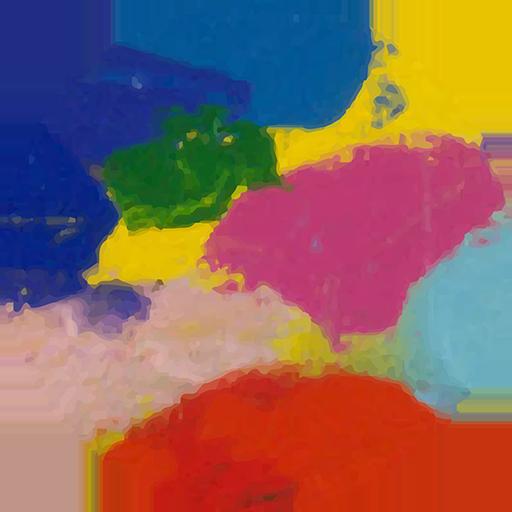 Mixed colors circle