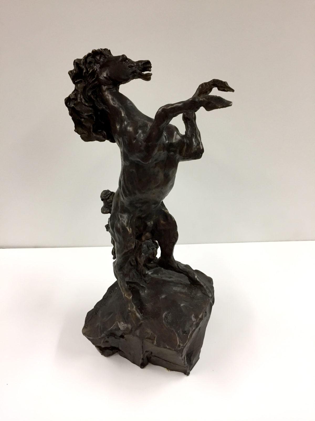 Defiant (Horse) sculpture