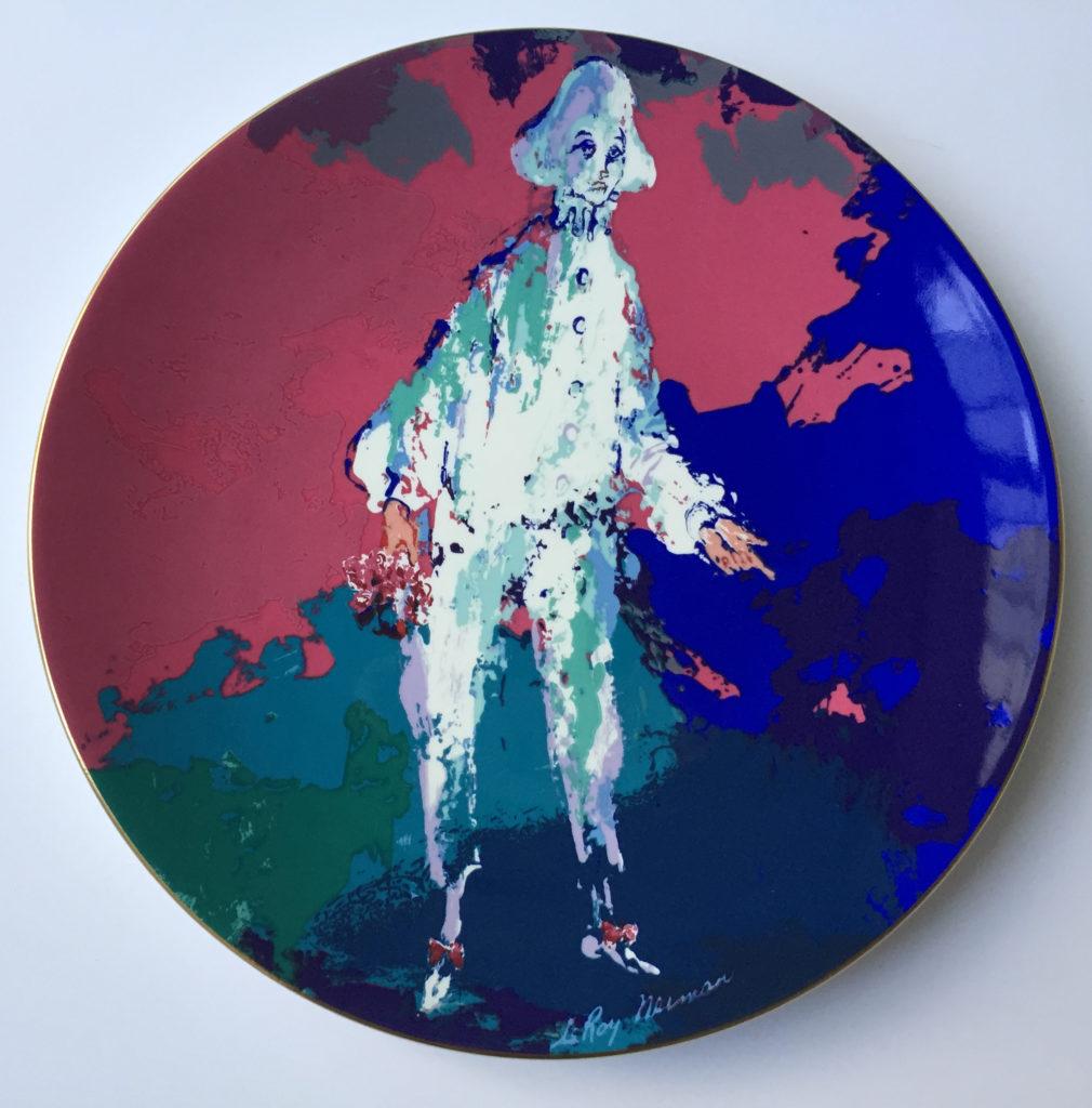 Pierrot plate (Front)