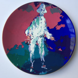 Pierrot plate (Front)
