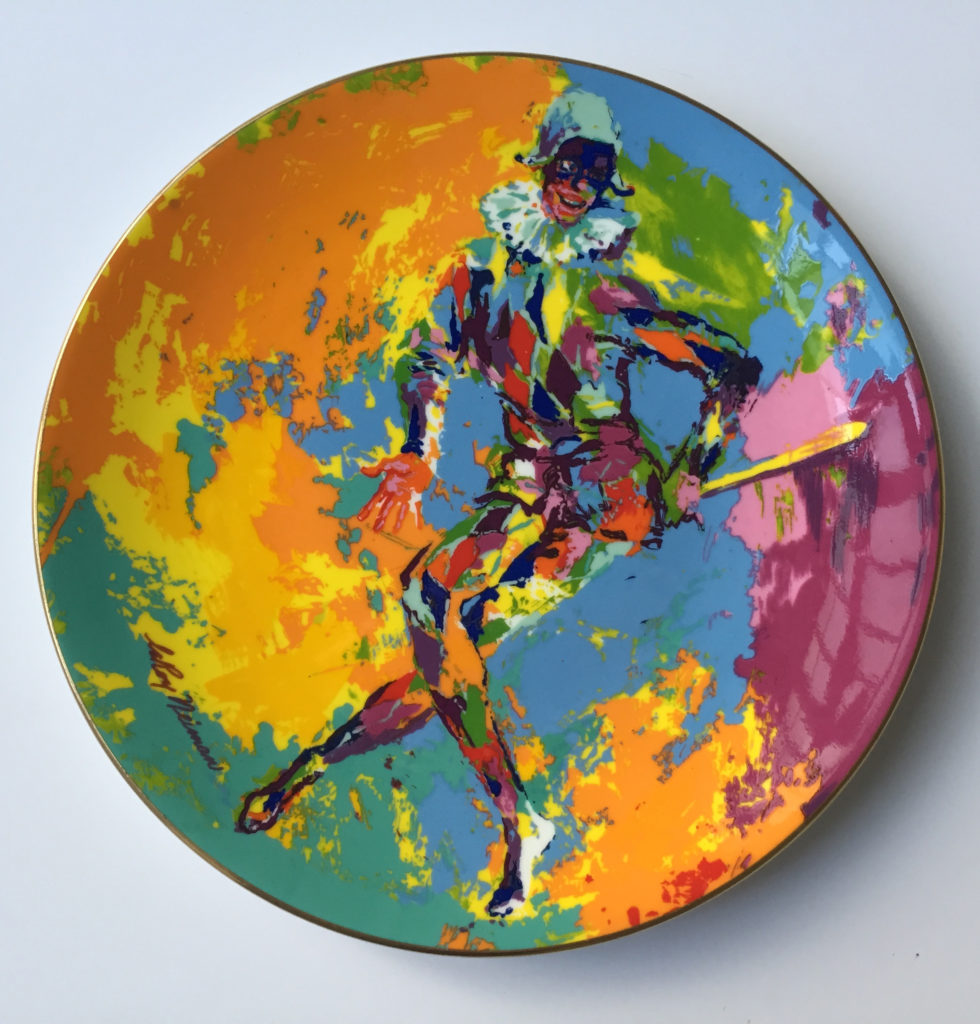 Harlequin plate (Front)