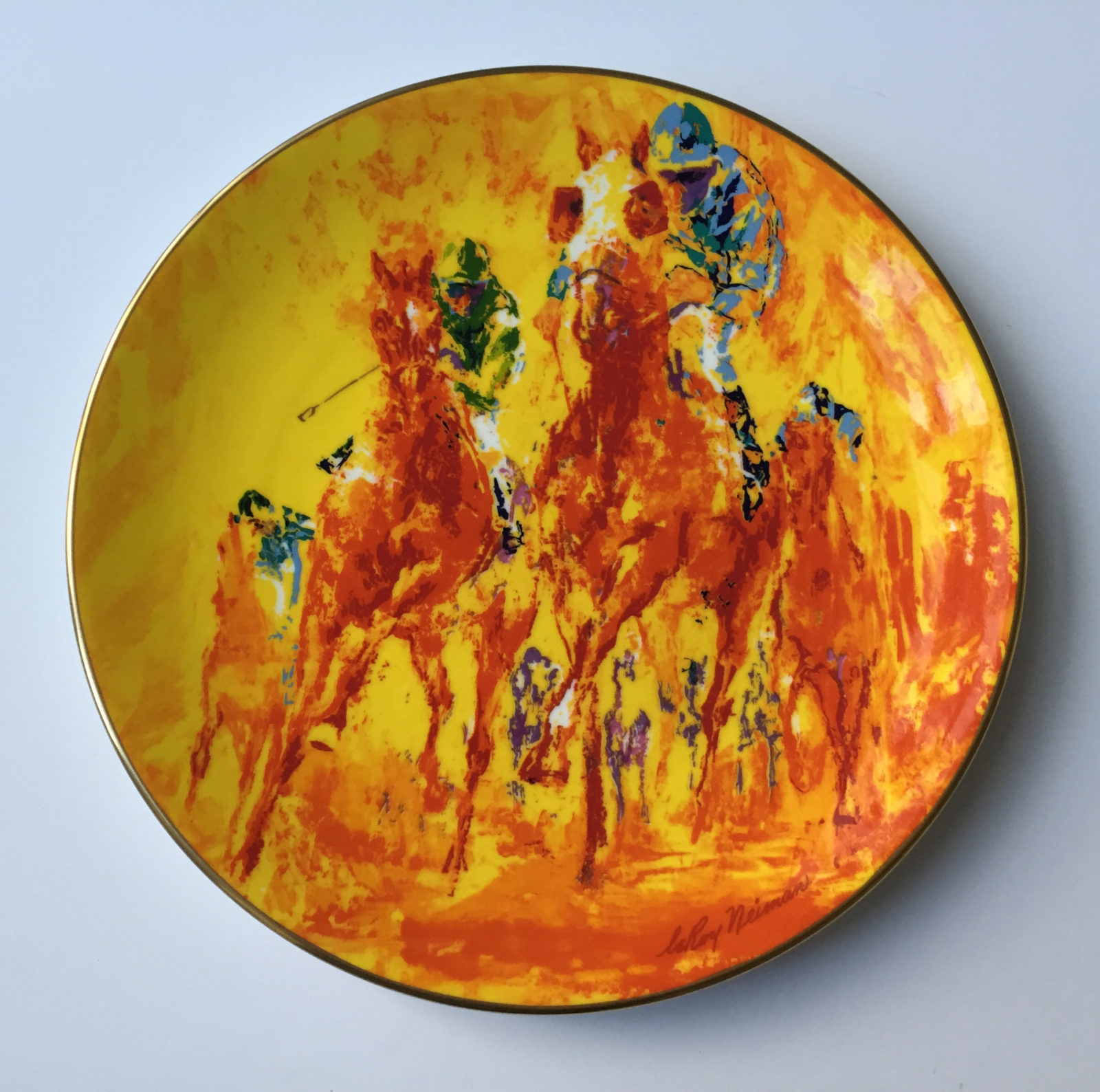 Winning Colors plate (Front)