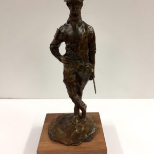 Male Jockey sculpture