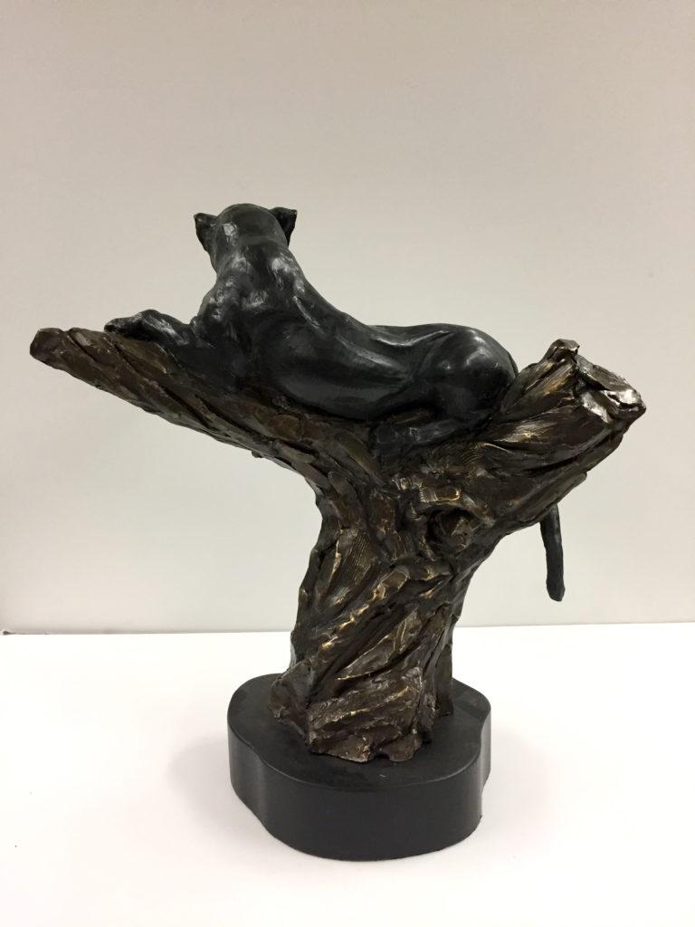 Vigilant (Panther) sculpture