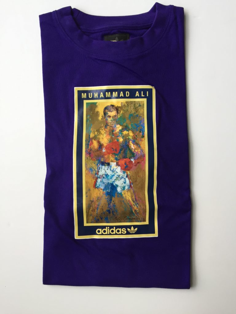 Muhammad Ali Adidas Shirt (Purple)
