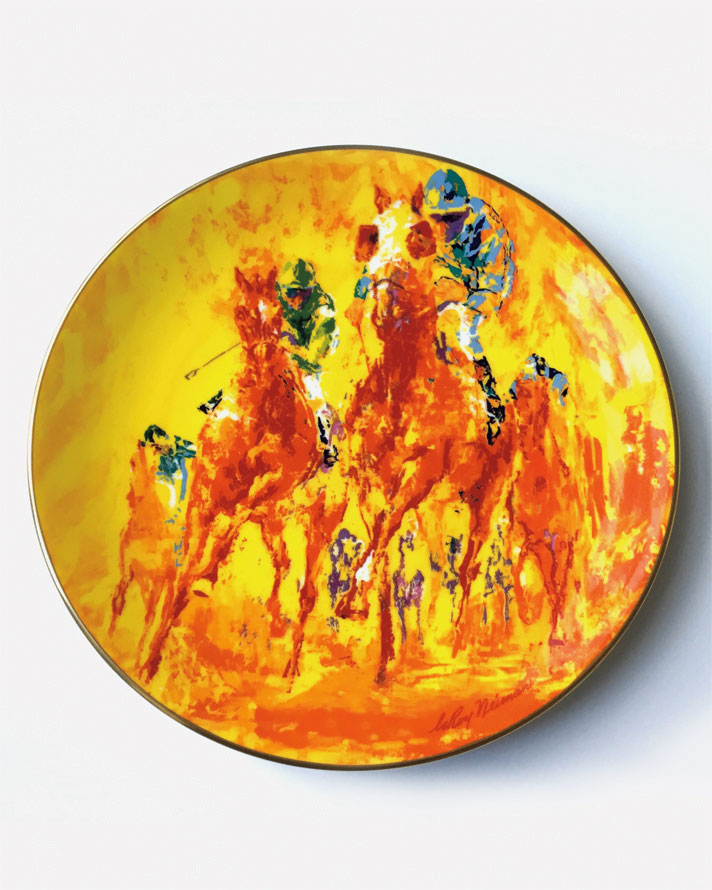 Winning Colors (Horses) plate